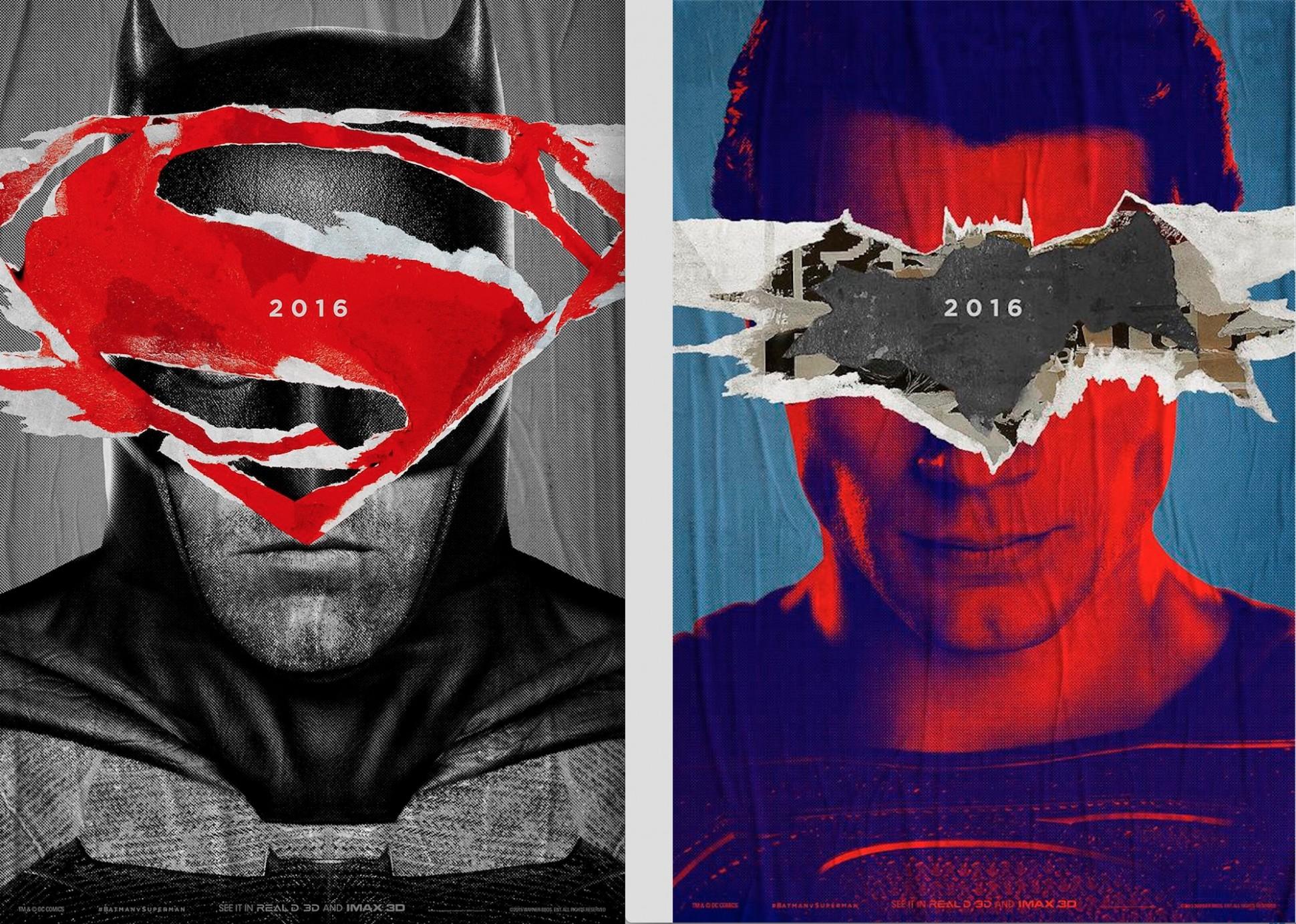 Pósters de Batman v Superman: El Amanecer de la Justicia