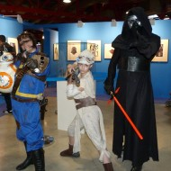 Kylo Ren, Rey, BB-8