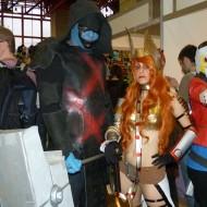 Ronan, Ángela y Star-Lord