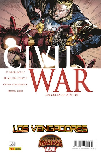 Secret Wars: Civil War #1