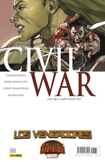 Los Vengadores #60: Civil War