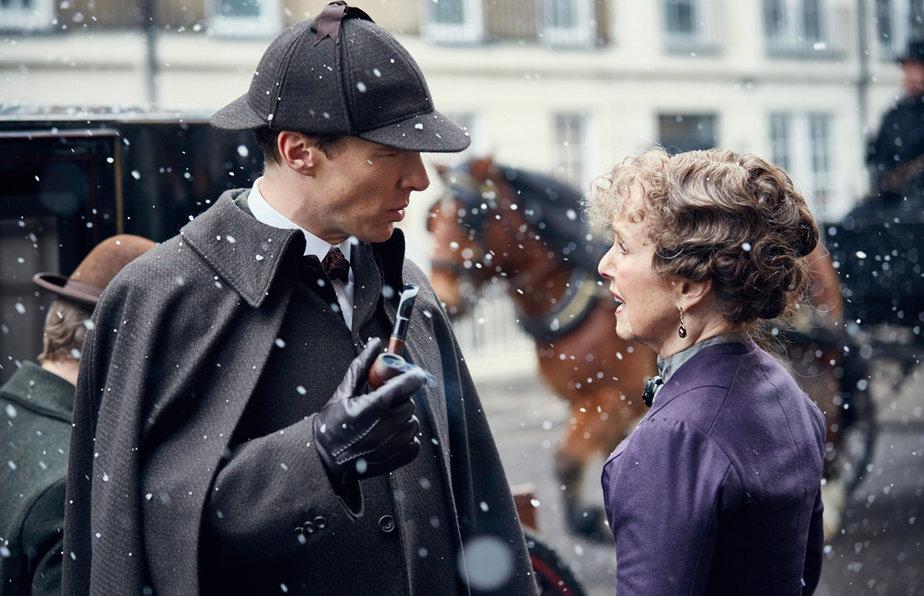 Sherlock en Sherlock: La novia abominable