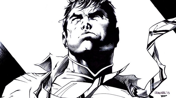 Superman, por Jim Lee