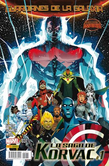 Guardianes de la Galaxia #31: La Saga de Korvac