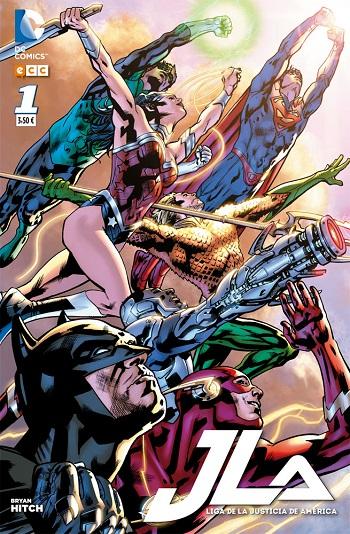 Liga de la Justicia de América #1