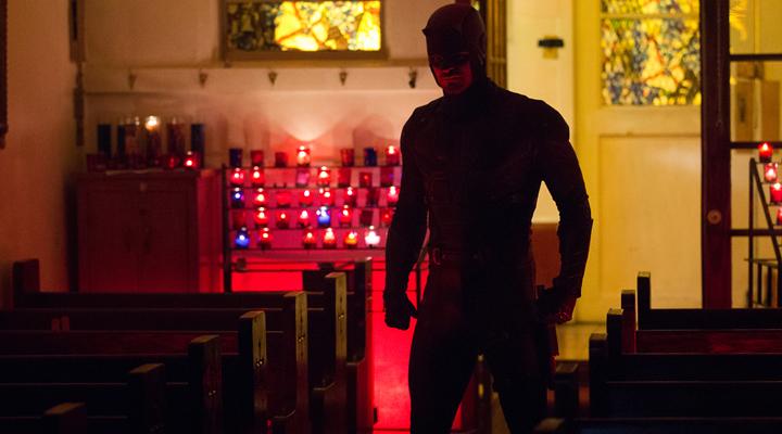 Daredevil en un fotograma de la segunda temporada