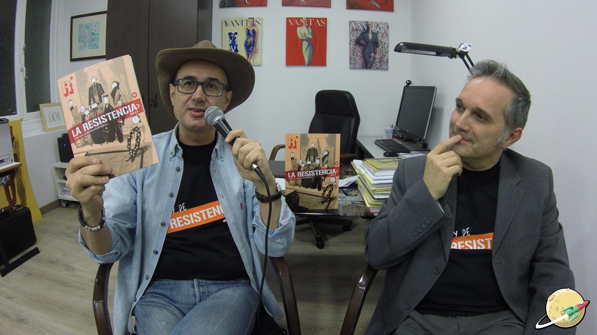 Ricardo Esteban y Juanjo el Rápido