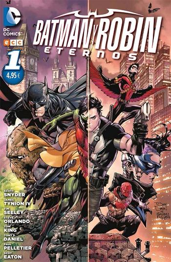 Batman y Robin Eternos: #1