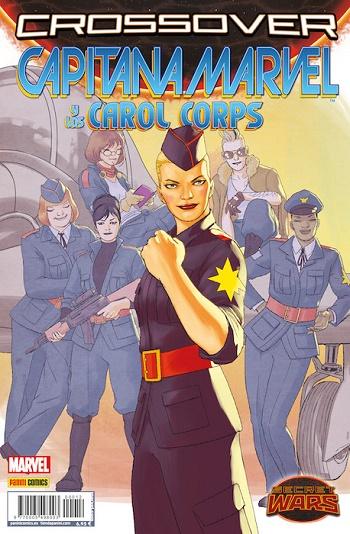 Capitana Marvel y los Carol Corps