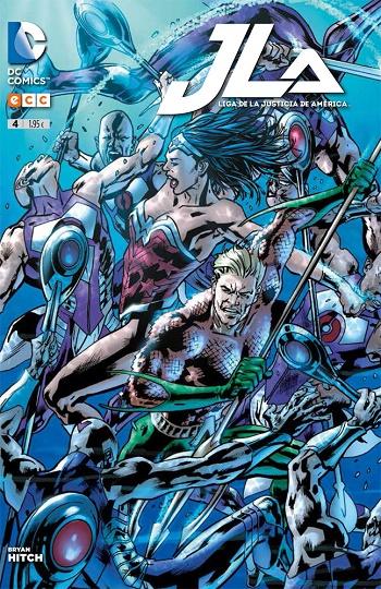 JLA - Liga de la Justicia de América #4