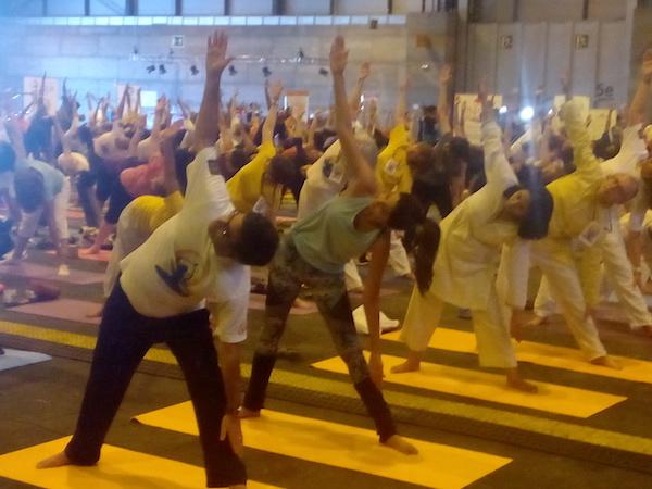 Yoga con Shilpa Shetty