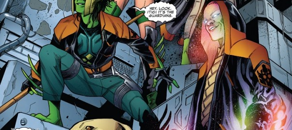 Guardianes de la Galaxia #40