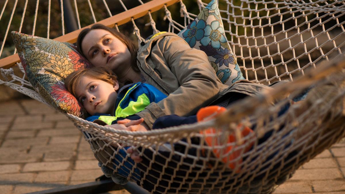 Brie Larson y Jacob Tremblay