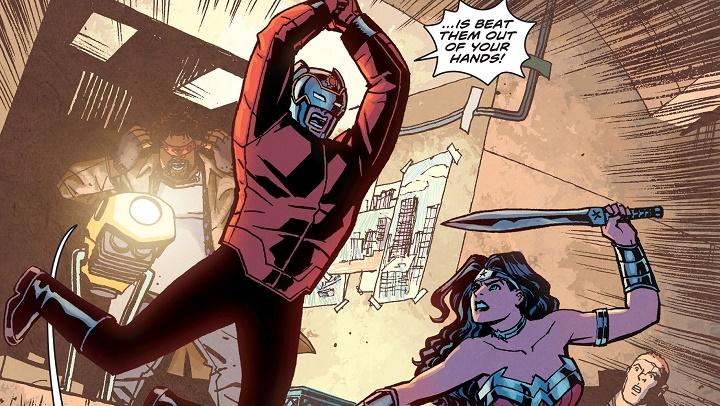 Wonder Woman: Hierro