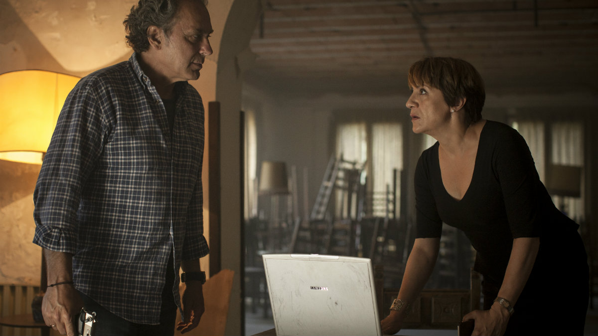 José Coronado y Blanca Portillo