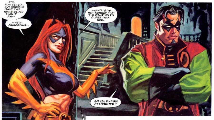 Batgirl y Robin