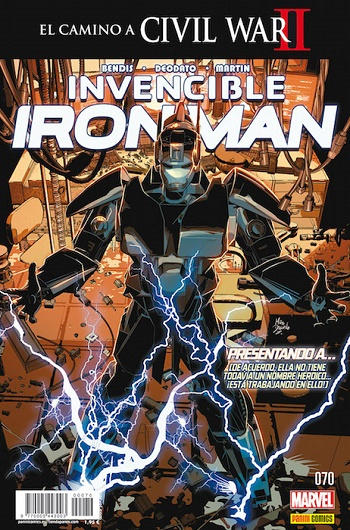 Invencible Iron Man #70