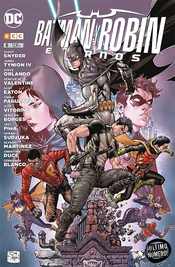 Batman y Robin Eternos #6