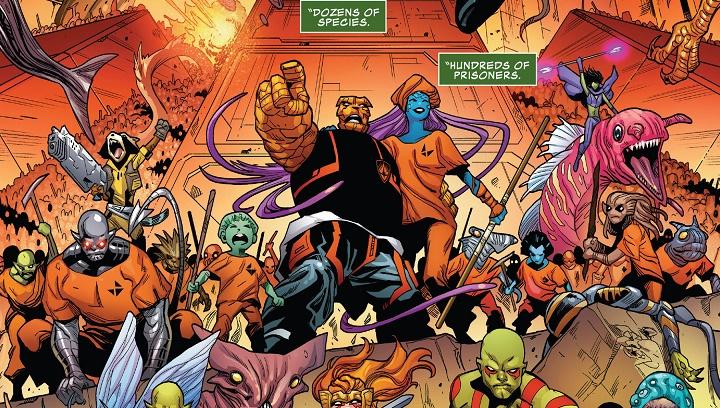 Guardianes de la Galaxia #45