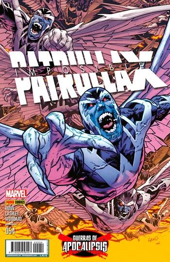 Imposible Patrulla-X #54
