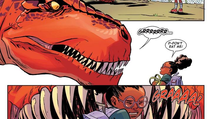 Moon Girl y Dinosaurio Diabólico #1: BFF