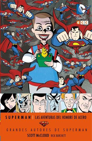 Grandes Autores de Superman: Scott McCloud - Las Aventuras del Hombre de Acero