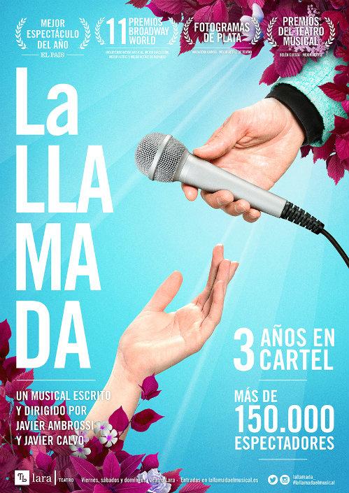 la-llamada-cartel-musical-teatro-lara