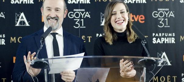 Natalia de Molina y Javier Cámara