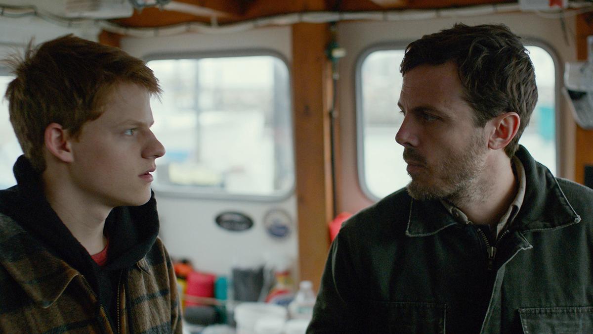 Hedges y Affleck en un momento de la película