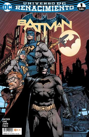 Batman: Renacimiento #1