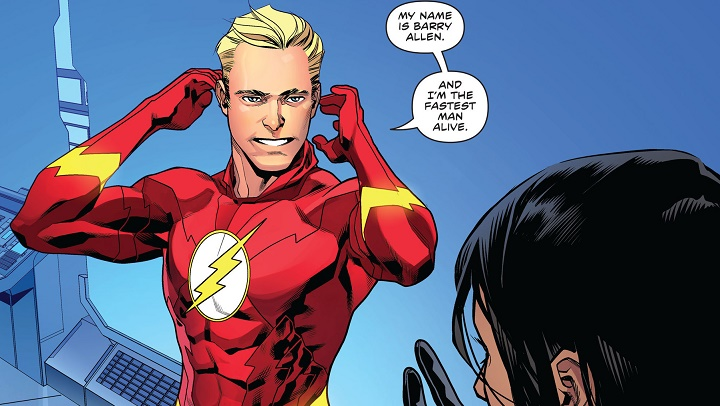 Flash: Renacimiento #3