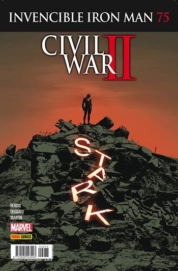 Invencible Iron Man #75