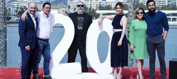 El equipo en el photocall oficial de la película en el Festival de Málaga