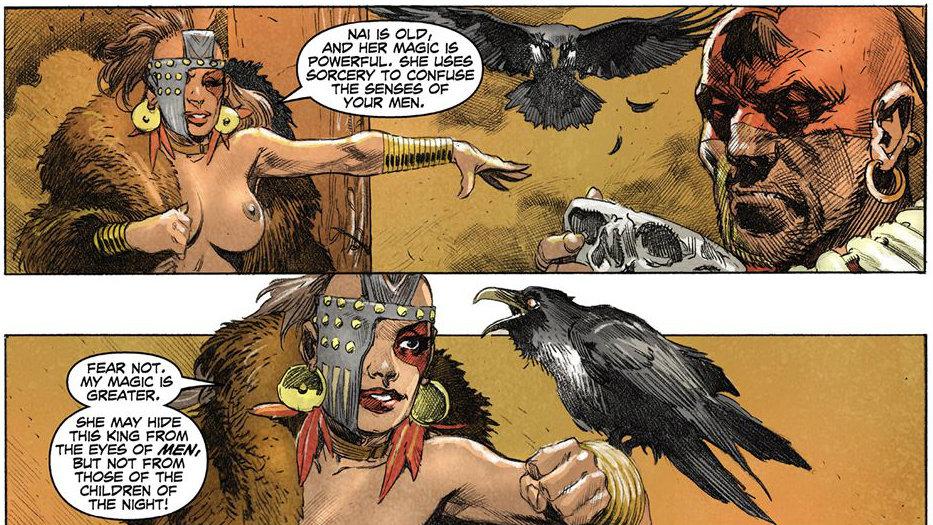 Conan Rey: Lobos de allende de la frontera