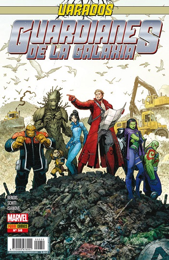 Guardianes de la Galaxia #50