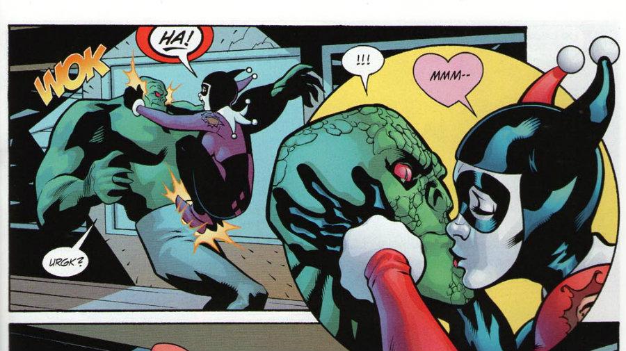 Harley Quinn y Killer Croc