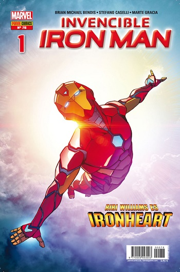 Invencible Iron Man #76-1