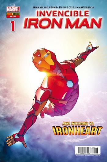 Invencible Iron Man #76-1