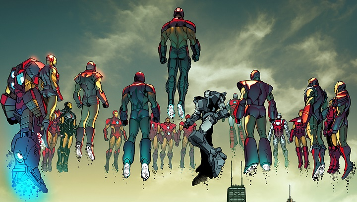 Invencible Iron Man #77-2