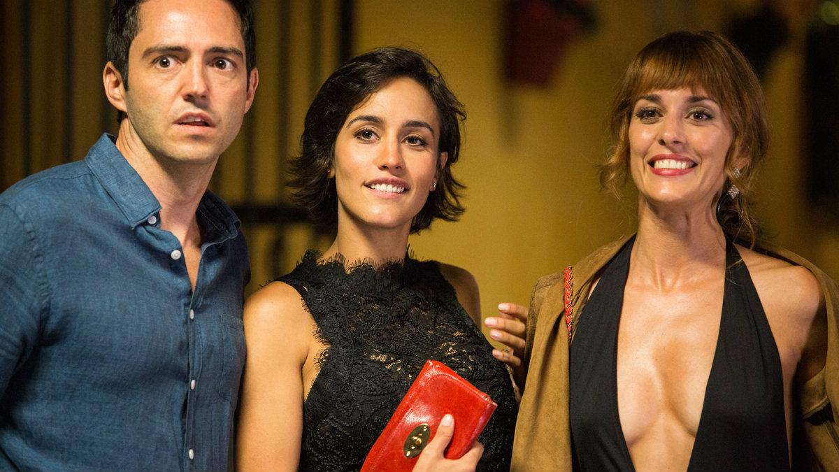 David Guapo, Megan Montaner y Silvia Alonso