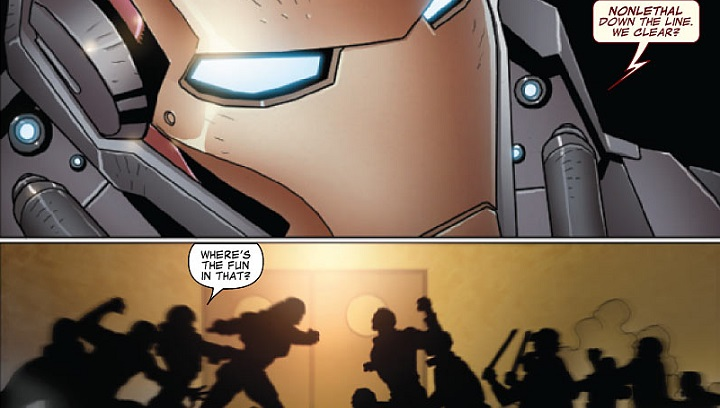 El Invencible Iron Man #8: El Futuro