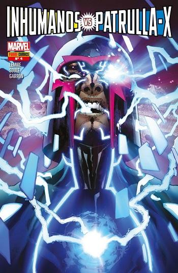 Inhumanos vs. Patrulla-X #4