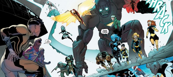 Inhumanos vs. Patrulla-X #5