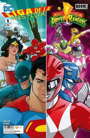 Liga de la Justicia / Power Rangers #1