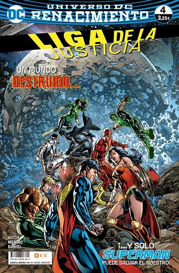 Liga de la Justicia: Renacimiento #4