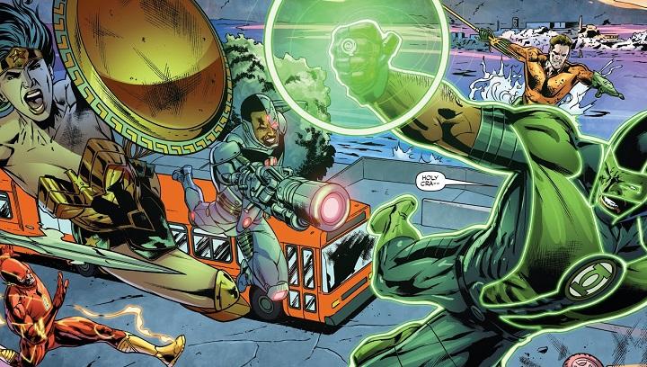 Liga de la Justicia: Renacimiento #6