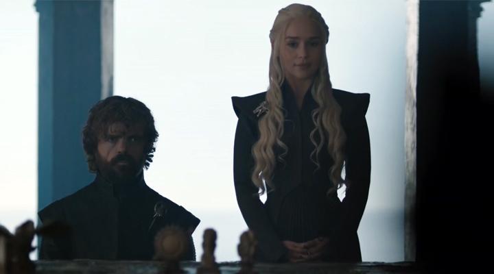 Tyrion y Daenerys en Bajo la Tormenta, segundo capítulo de la séptima temporada de Juego de Tronos