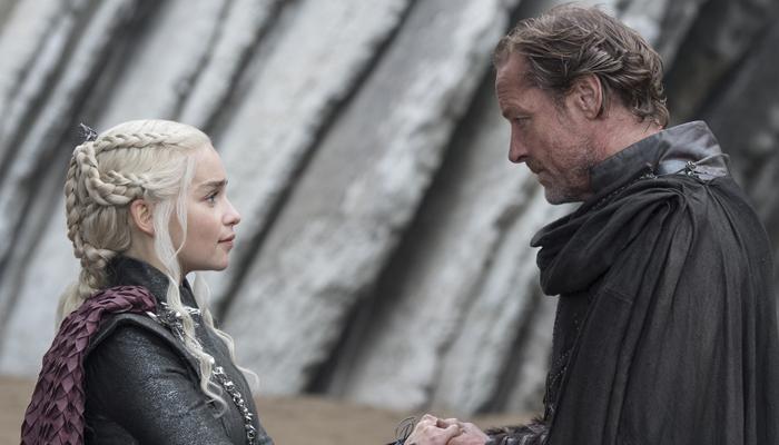 Daenerys y Jorah en Guardaoriente, el quinto episodio de la séptima temporada de Juego de Tronos