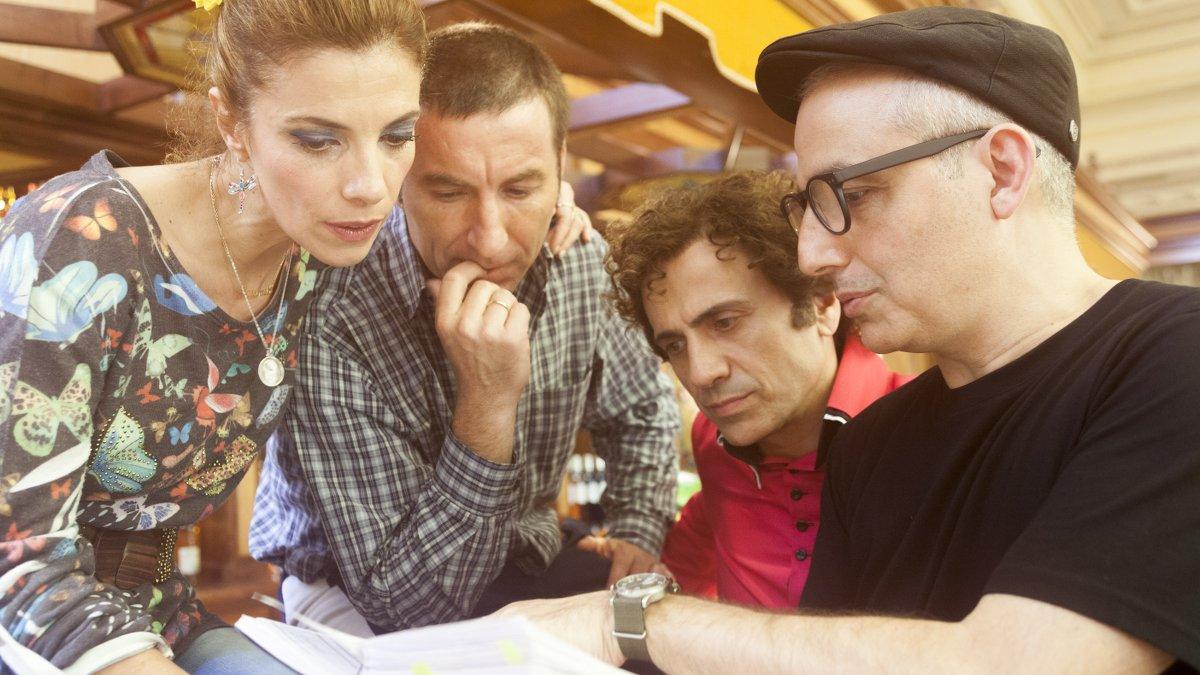 Maribel Verdú, Antonio de la Torre, José Mota y Pablo Berger