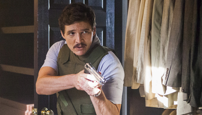 Pedro Pascañ en la tercera temporada de Narcos